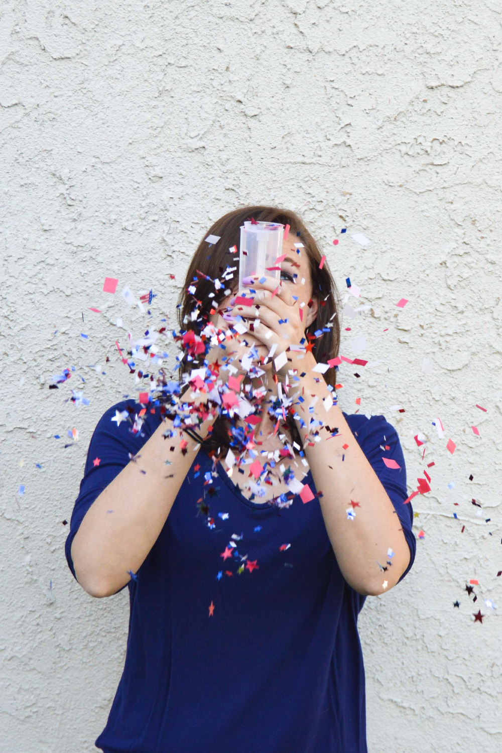 DIY Confetti Bombs for 4th of July