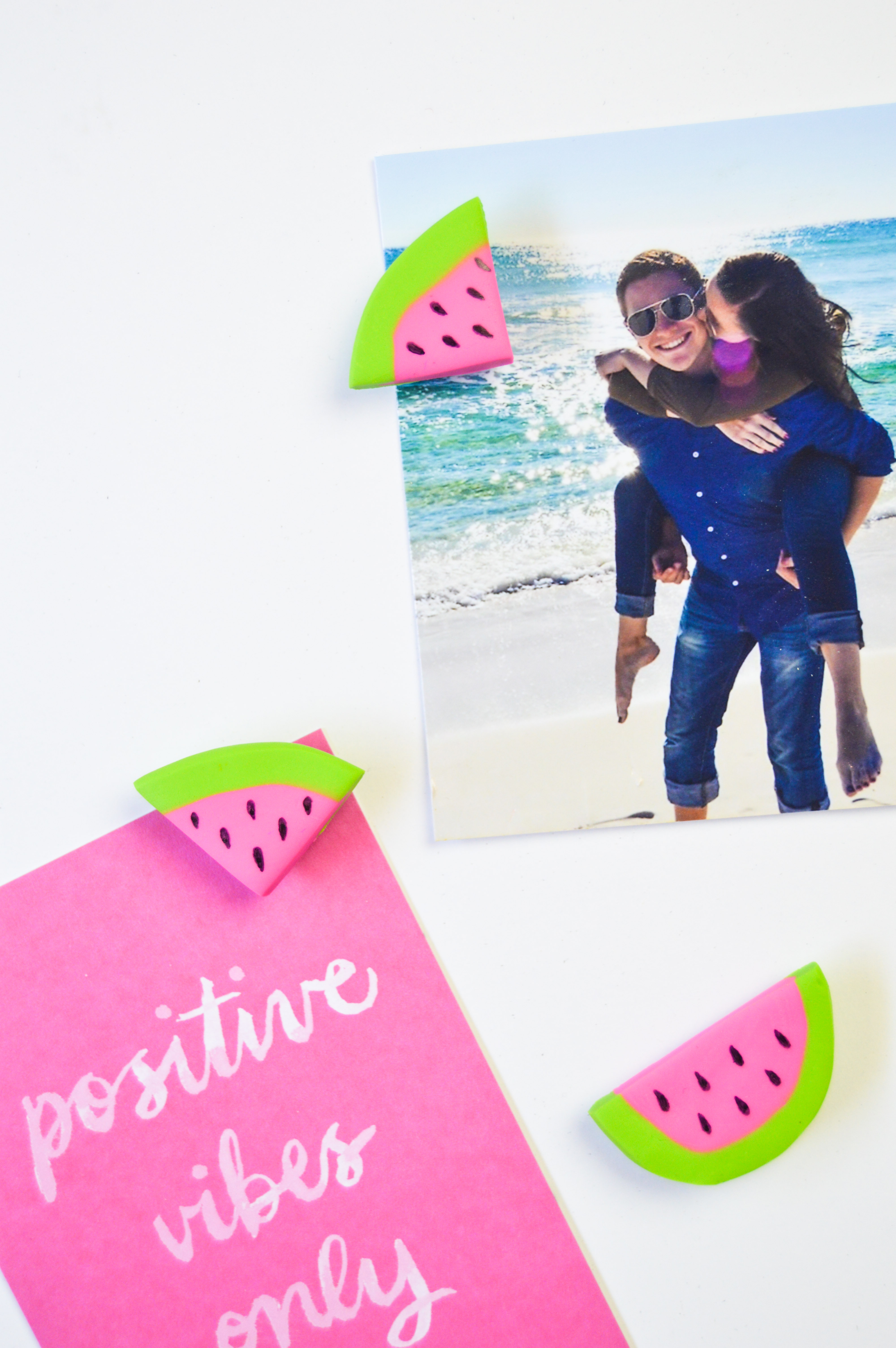 DIY Watermelon Magnets | www.clubcrafted.com