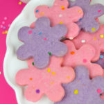 Colorful Funfetti Shortbread Cookies