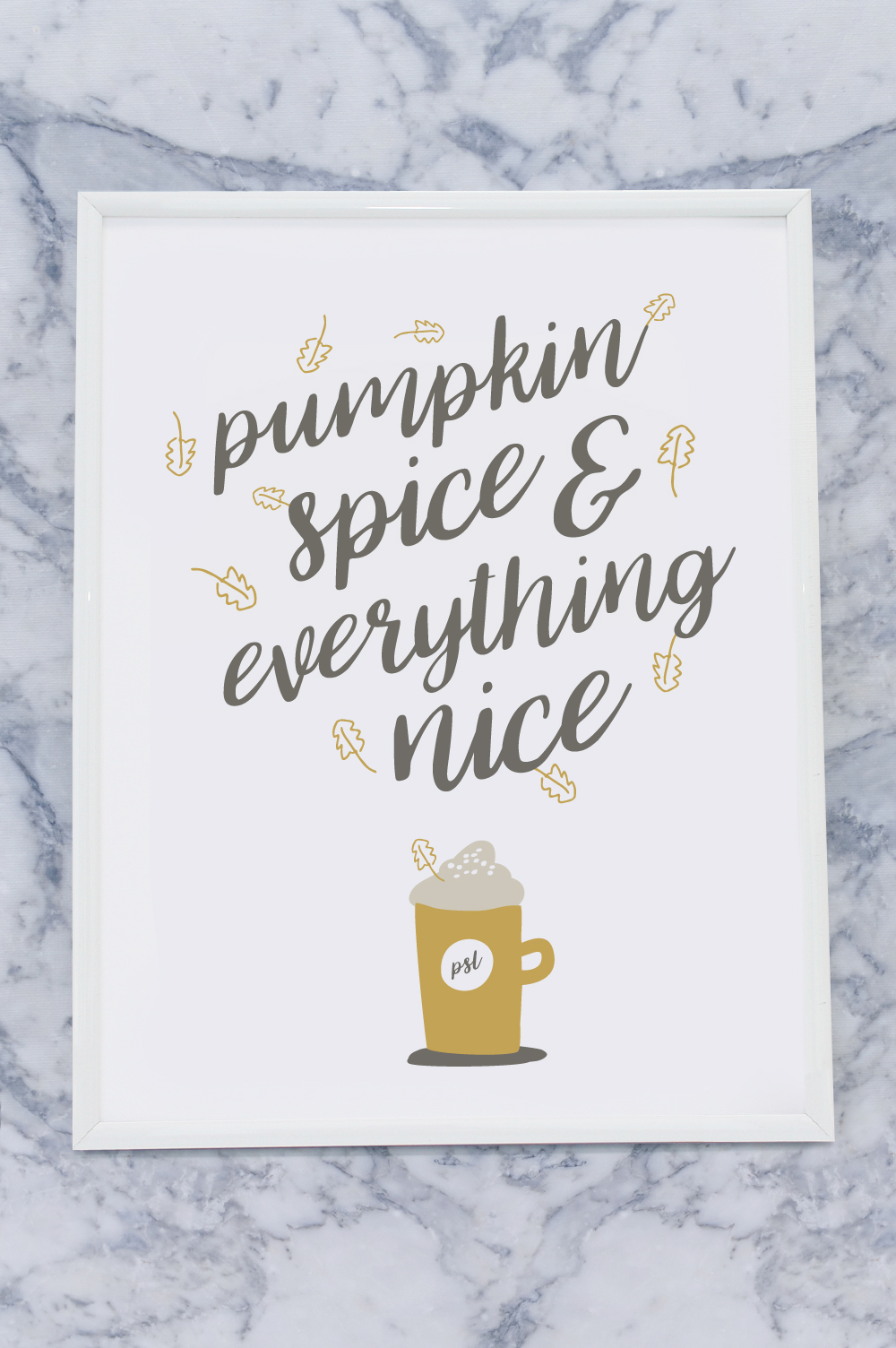DIY Printable Fall Wall Art | Club Crafted