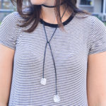 DIY Gem Choker Necklace