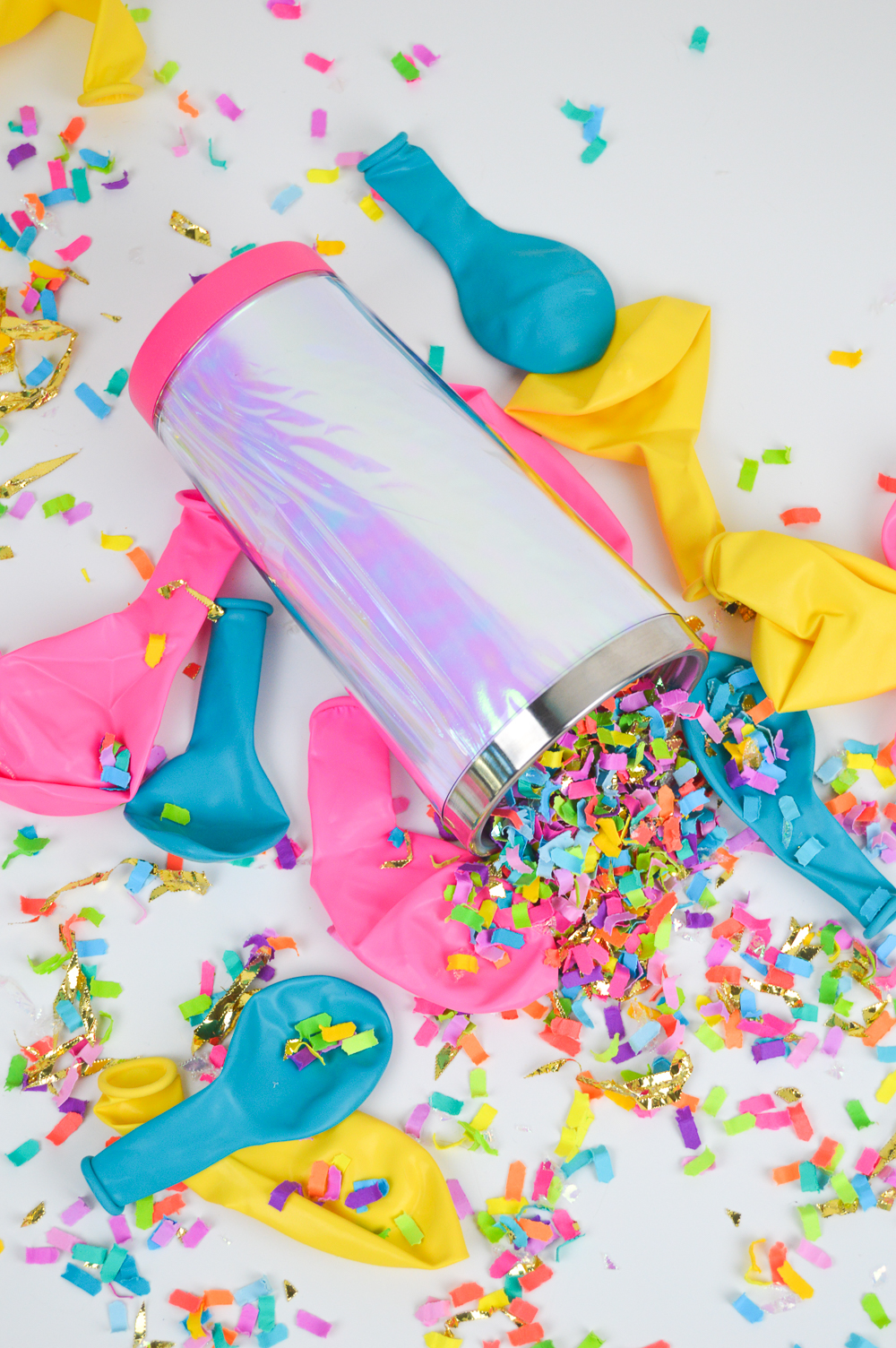 DIY Holographic Travel Mug