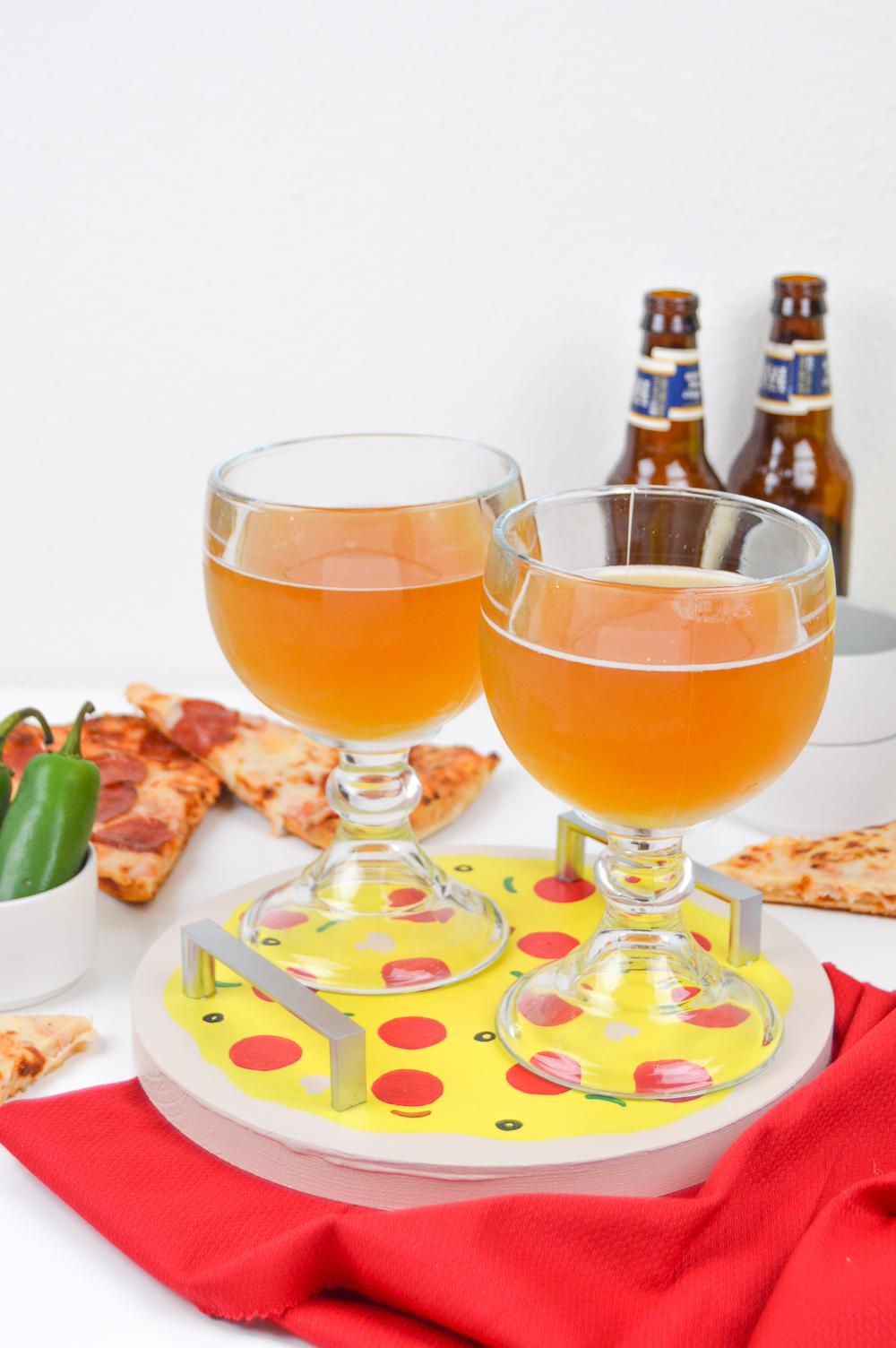 DIY Pizza Tray | Club Crafted