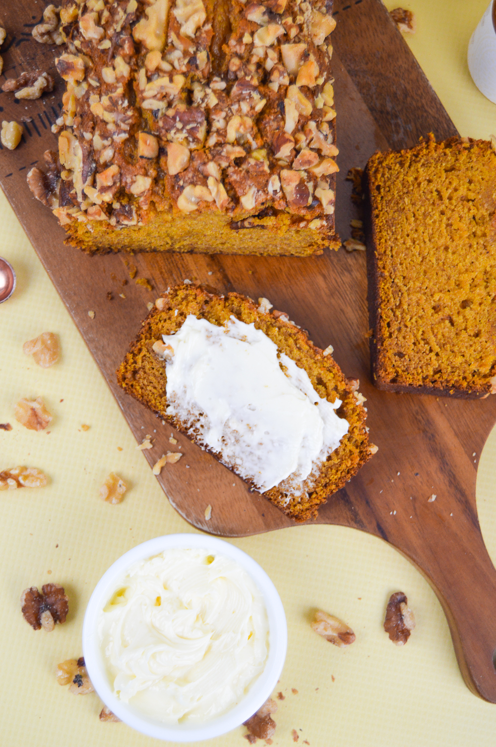 Pumpkin Bread + Whipped Honey Butter | Club Crafted