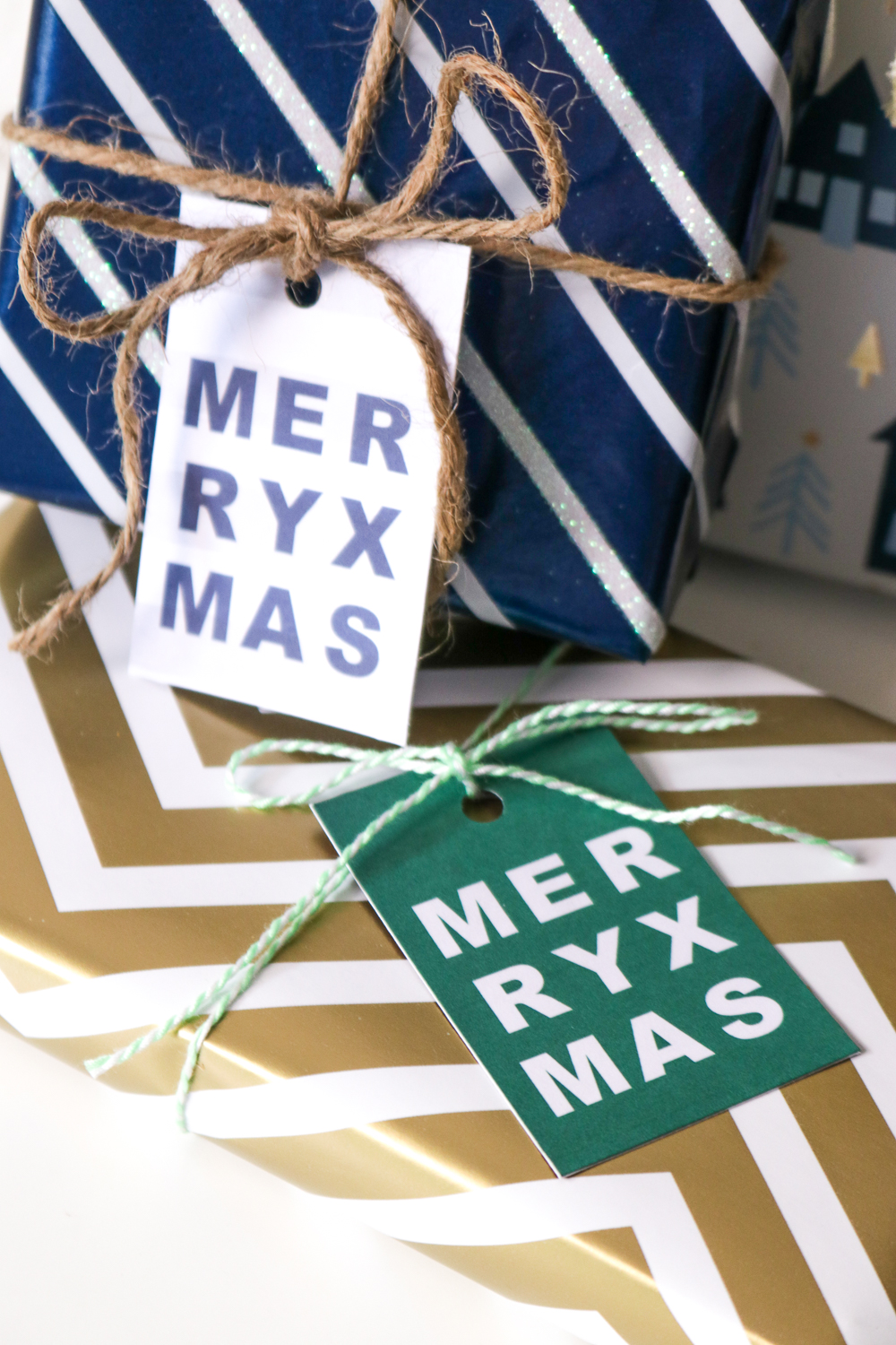 DIY Printable Gift Tags for Christmas | Club Crafted