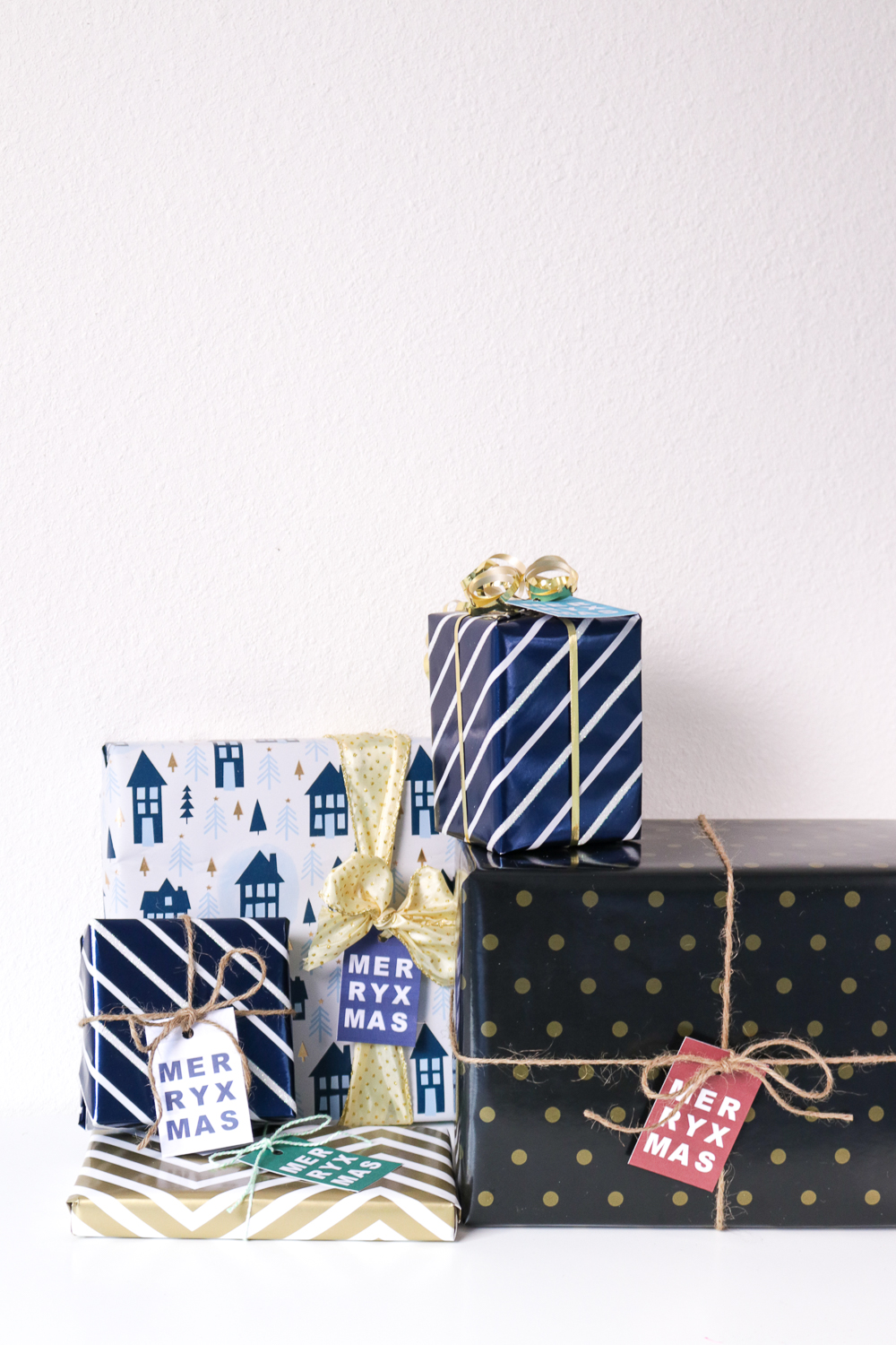 DIY Printable Gift Tags for Christmas
