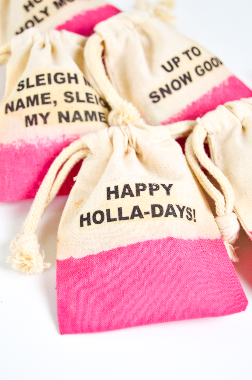 Punny Holiday Treat Bags | Club Crafted