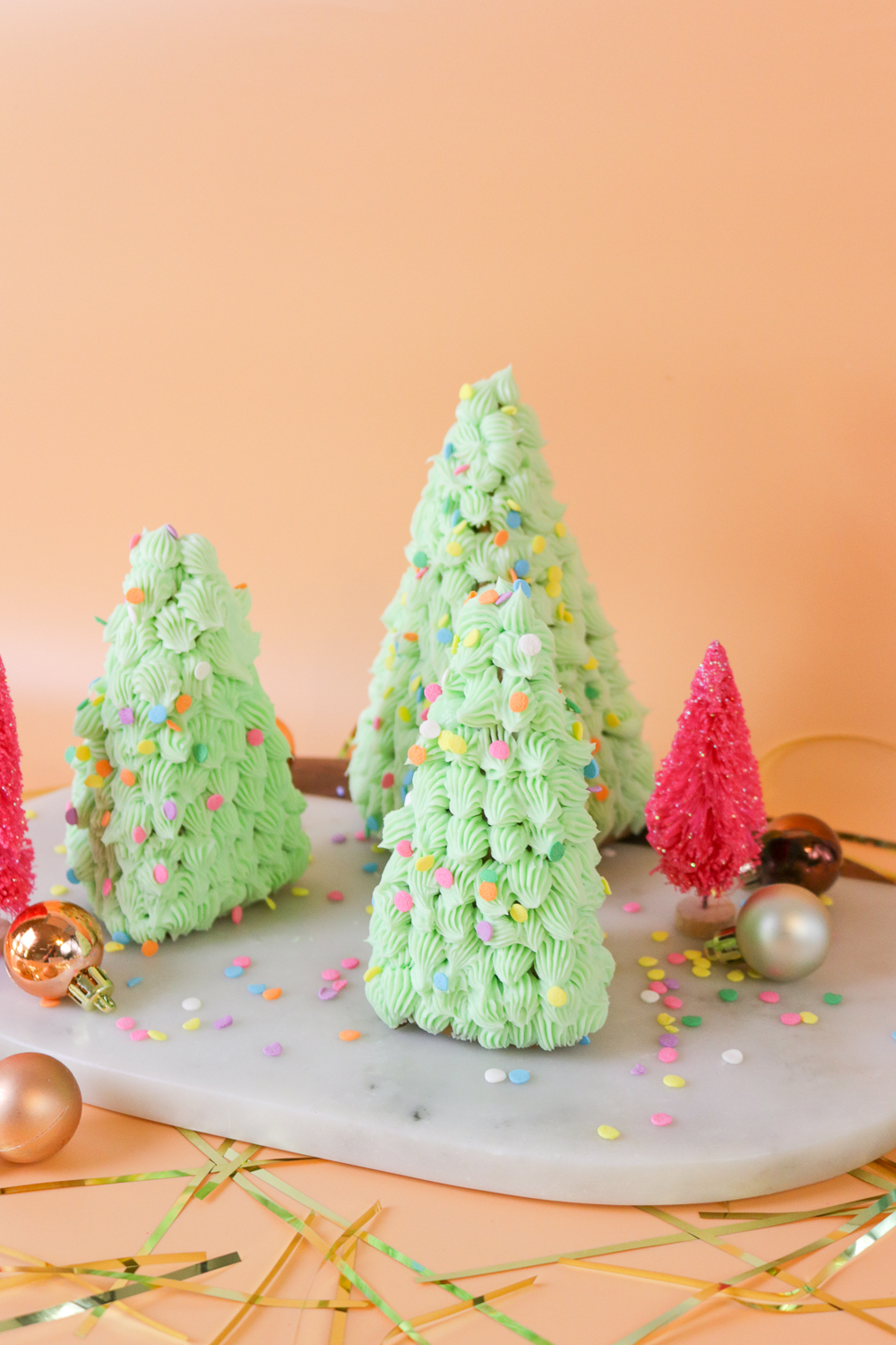 DIY 3D Gingerbread Trees   Club Crafted