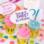 DIY Quote Bubble Cupcake Toppers + Free Printable!