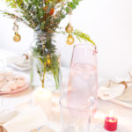Bright and Blush Decor for the Holiday Table Blog Hop