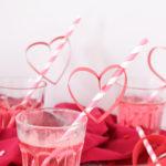 DIY Heart Straws for Valentine's Day