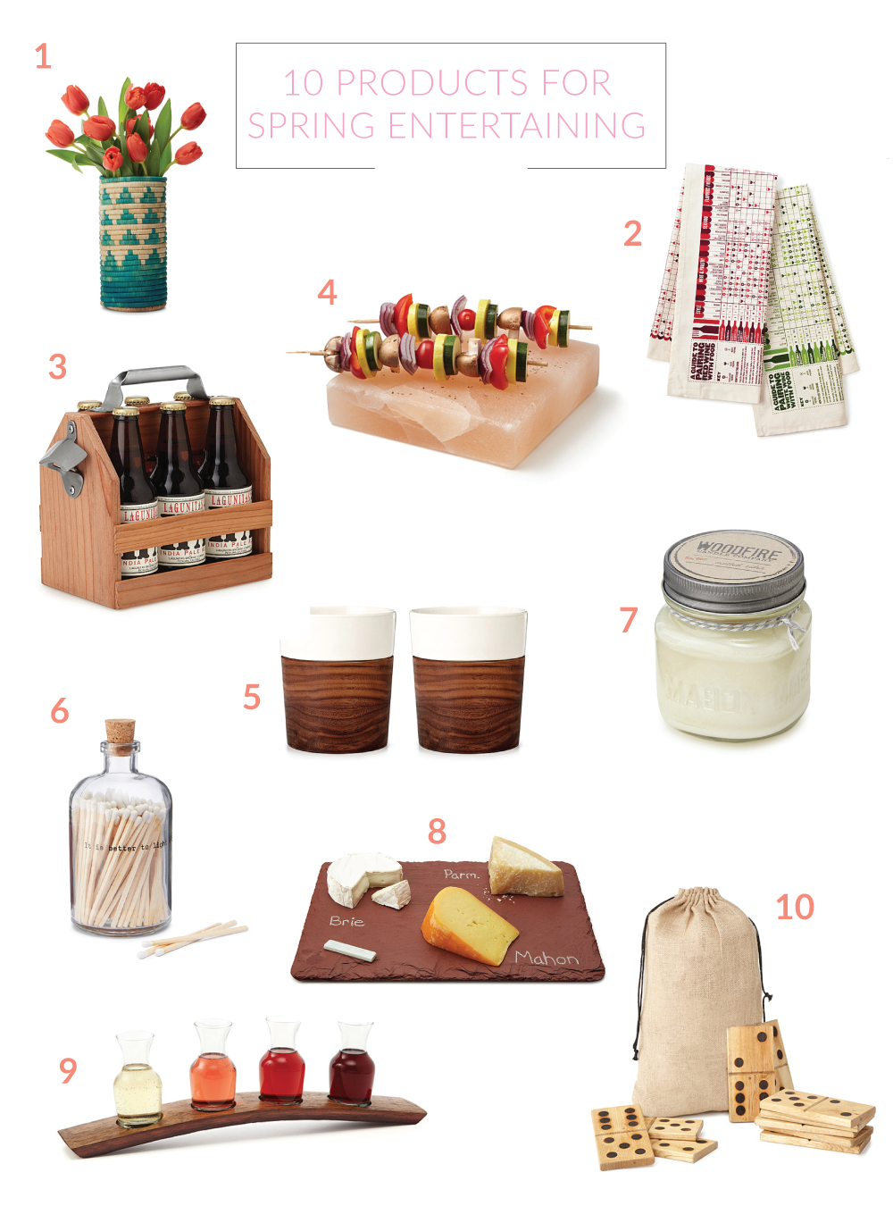 Shopping Guide: 10 Products for Spring Entertaining | Club Crafted