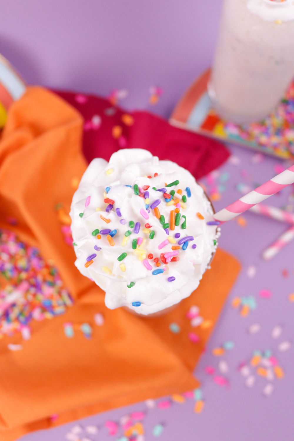 Funfetti Milkshake | Club Crafted
