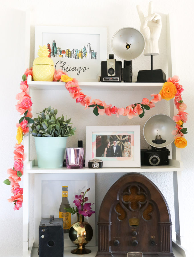 DIY Floral Garland for Spring