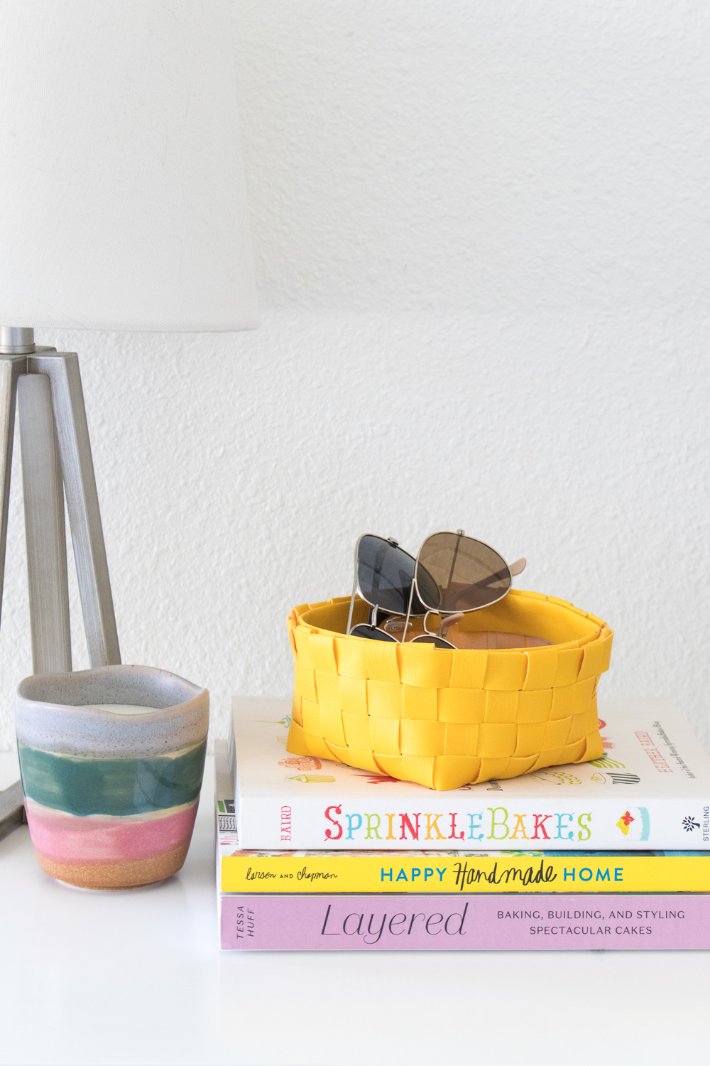 DIY Leather Woven Storage Basket | Club Crafted