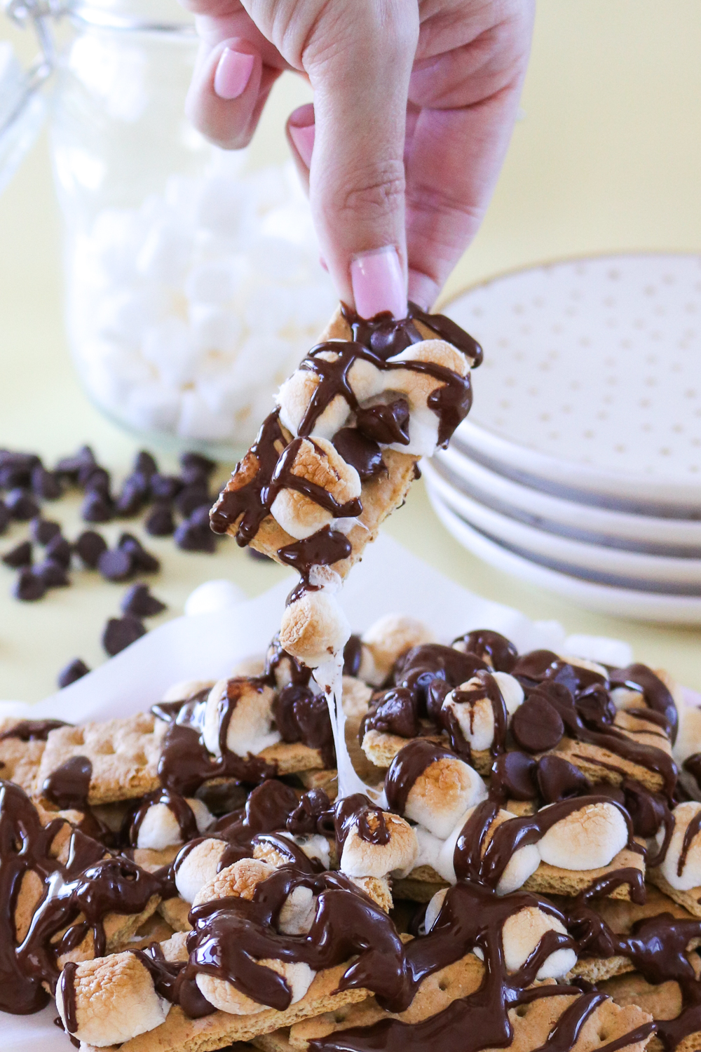S'mores Nachos | Club Crafted