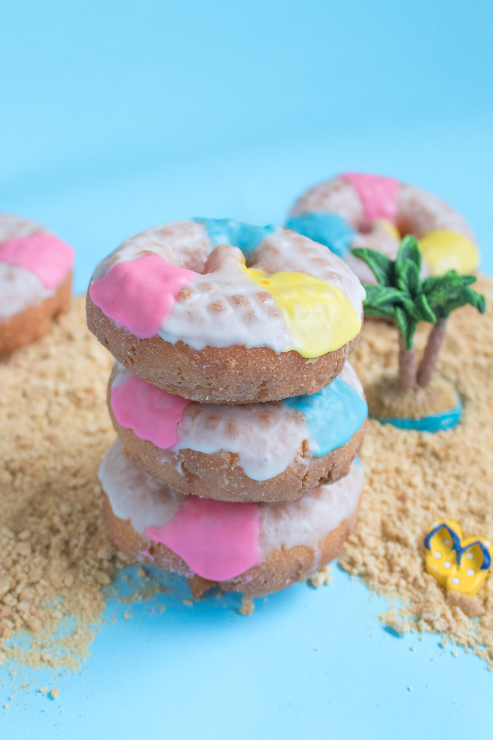 Beach Ball Donuts | Club Crafted