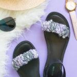 Quick Fix! DIY Woven Sandal Straps