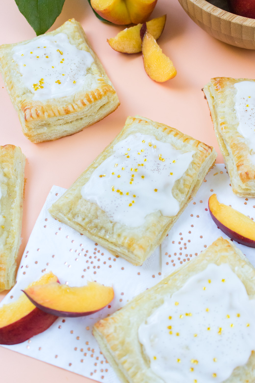 Peaches & Cream Pastries | Club Crafted