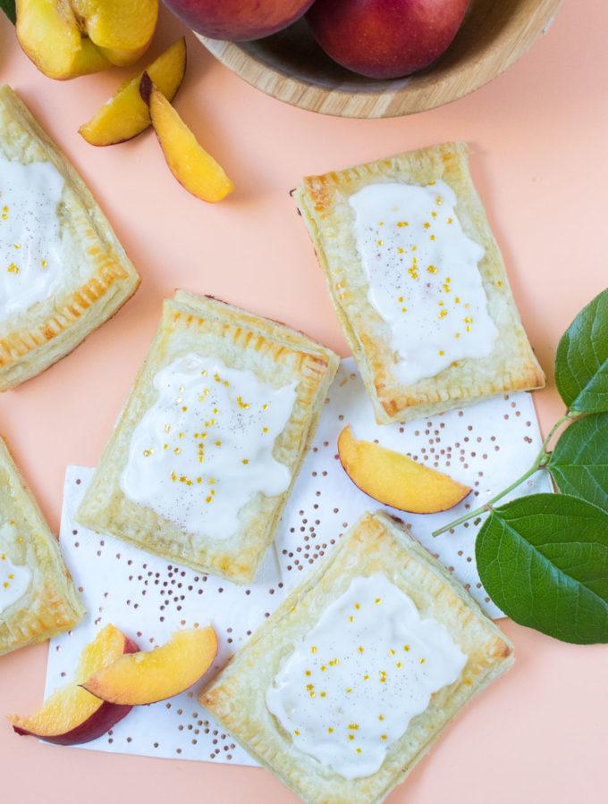 Peaches & Cream Pastries