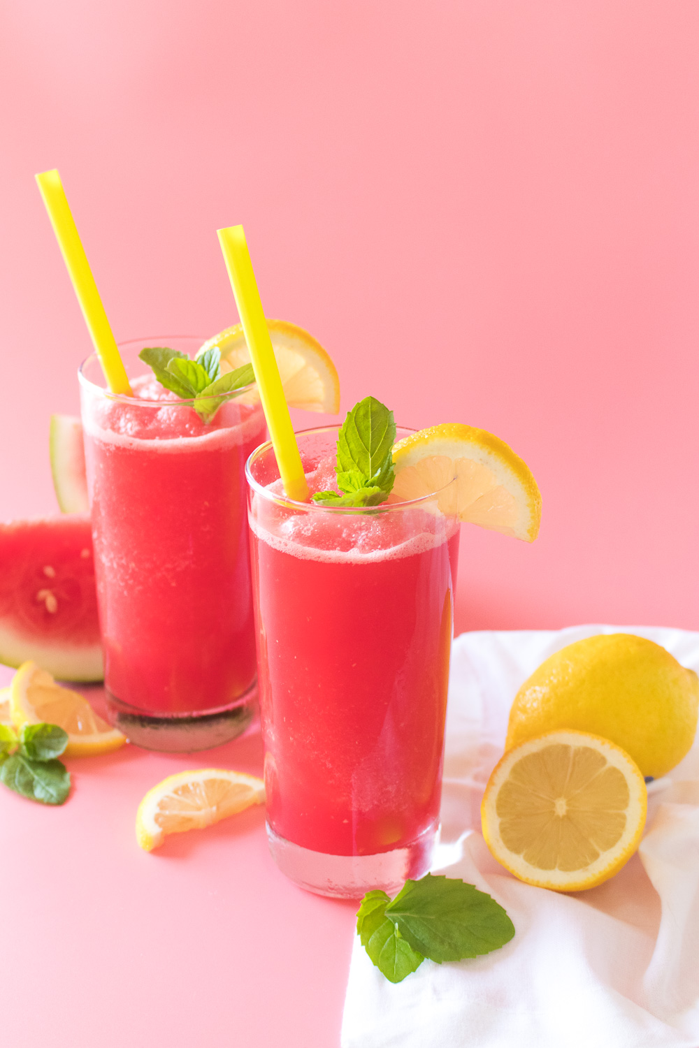 Blended Mint Melonade   Club Crafted