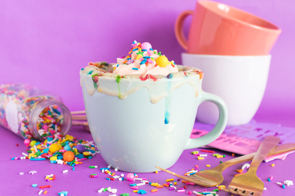 Funfetti Mug Cake for One | Club Crafted
