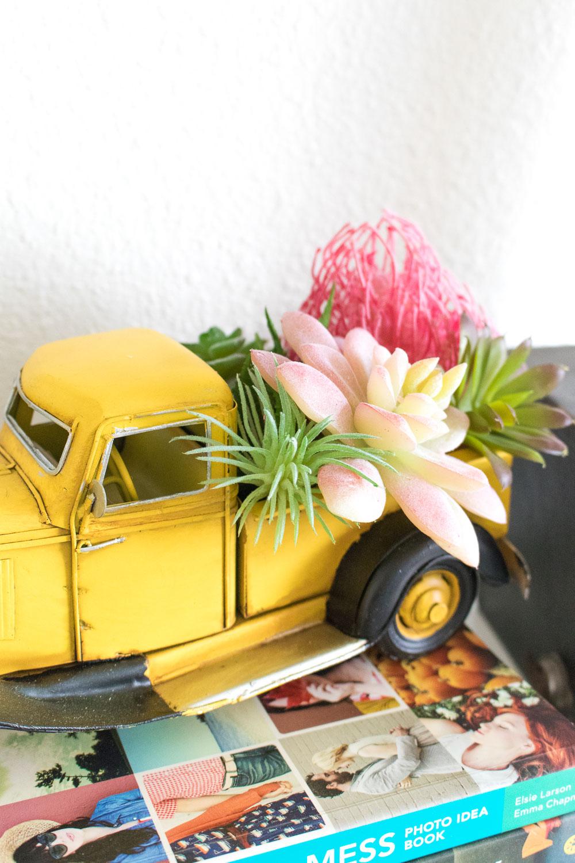 DIY Truck Terrarium Decor | Club Crafted