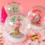 DIY California Snow Globes