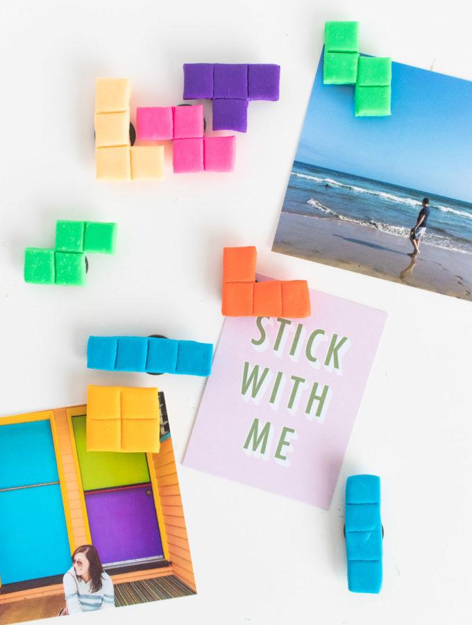 DIY Tetris Magnets | Club Crafted