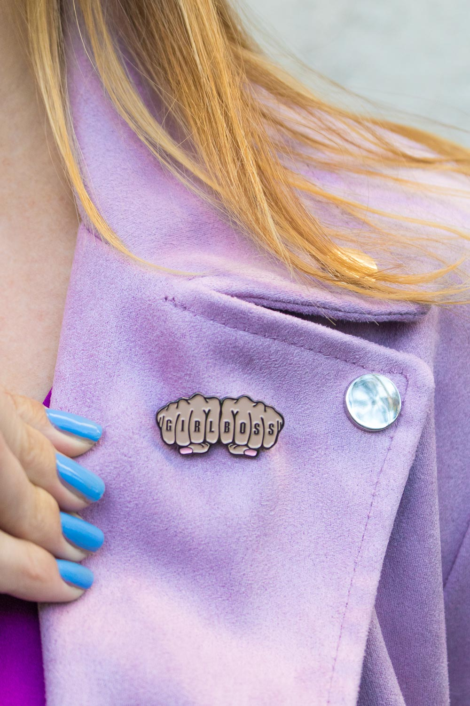 Girlboss Pin | Club Crafted