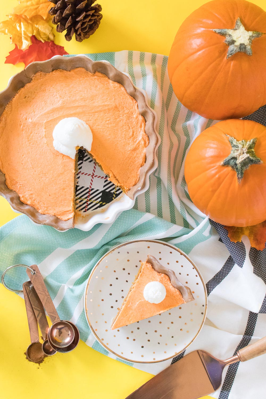Pumpkin Pie Cake   Club Crafted