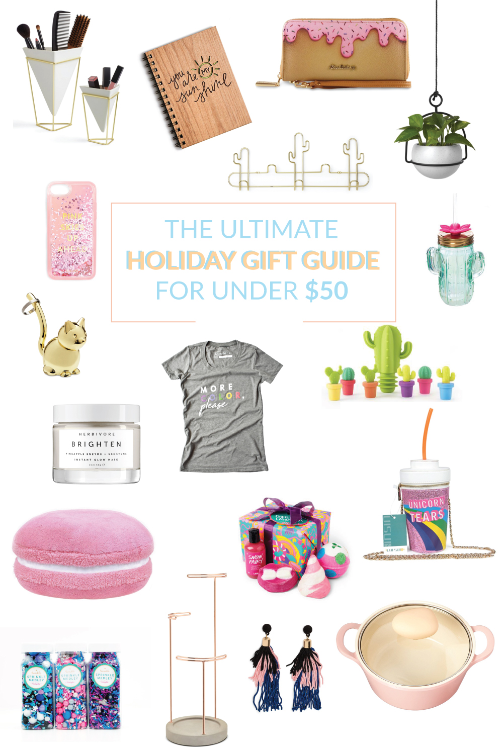 My 2017 Holiday Gift Guide for Under $50 | Club Crafted