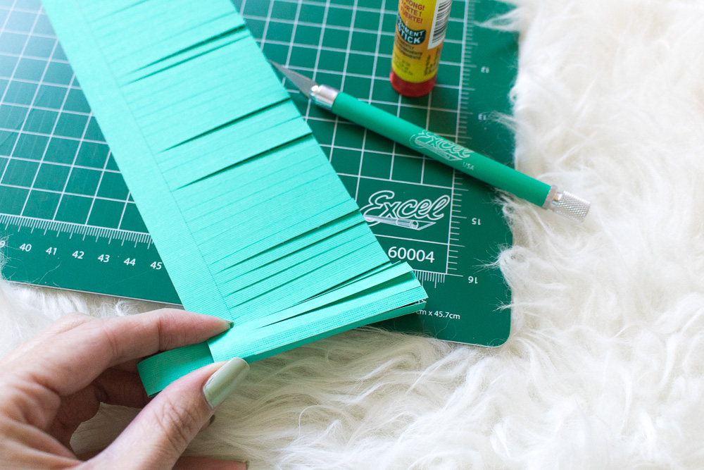 DIY Paper Tassel Decanter Tags | Club Crafted
