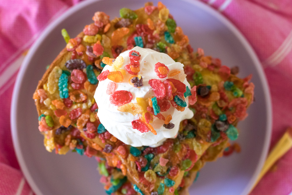 Fruity Pebble French Toast | Club Crafted