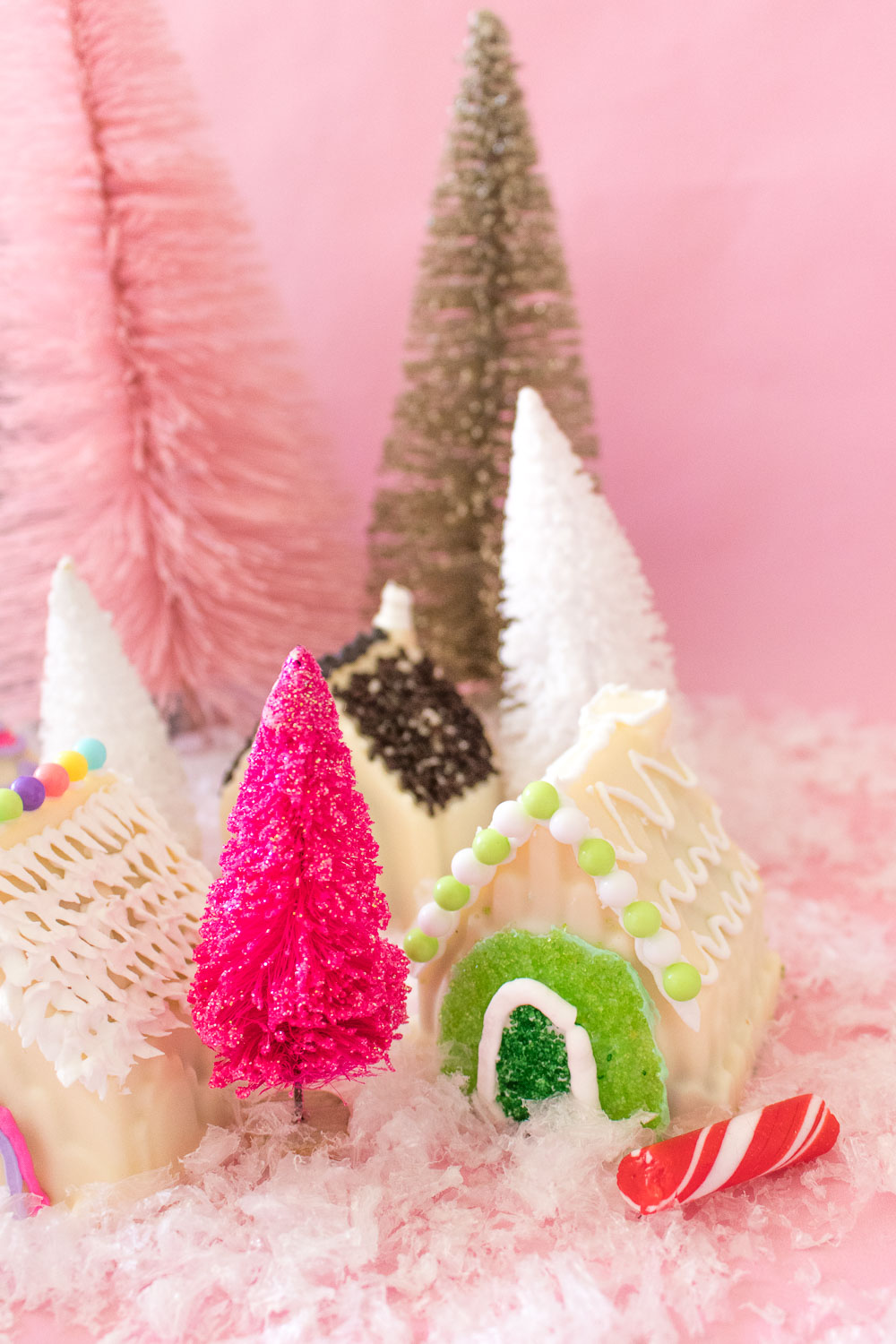 Gingerbread House Cake Bombs | Club Crafted
