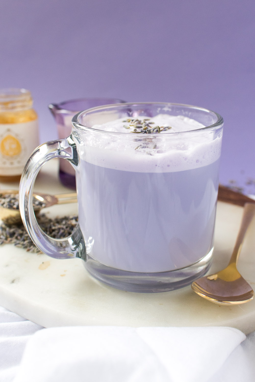 Lavender Tea Latte | Club Crafted